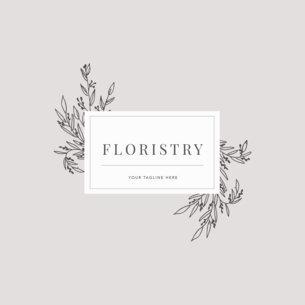 Floristry Shop Logo Maker 1270