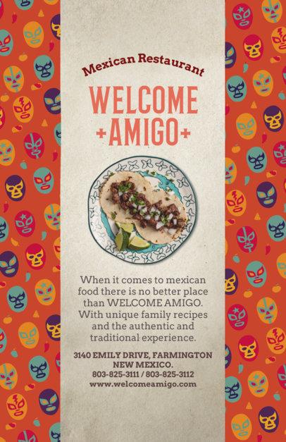 Restaurant Flyer Maker for Mexican Food Restaurants 377