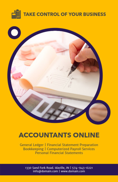 Accounting Flyer Maker 375a