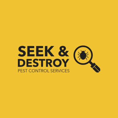 Logo Maker for Pest Control Companies 1254e