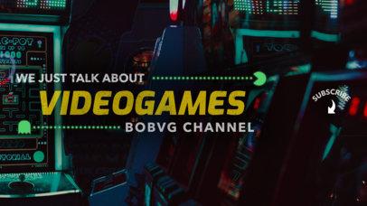 YouTube Banner Maker for Gamers