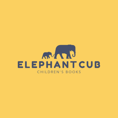 Logo Design Template for Children Book Publishers 1265c