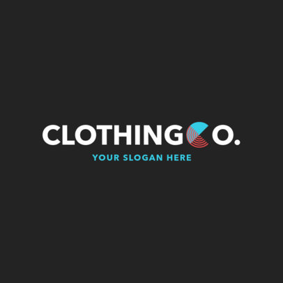 Online Logo Maker for a Clothing Brand with Typographic Design 1290