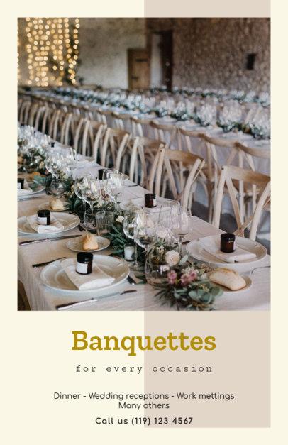 Banquet Online Flyer Maker 402c