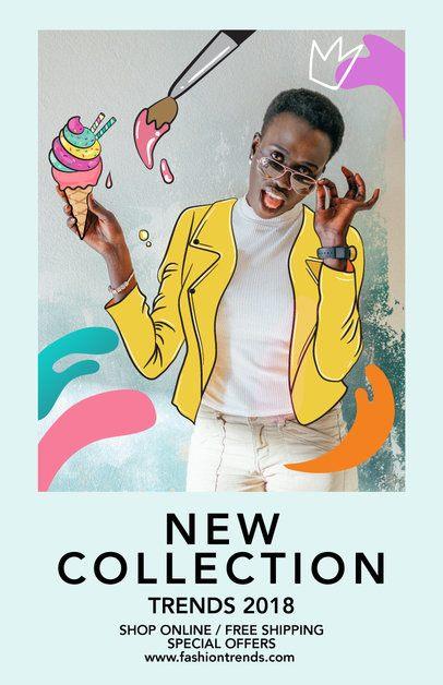 Flyer Design Maker for Cool Fashion Boutiques 388