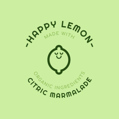 Jam Logo Maker for Lemon Jam 1287b