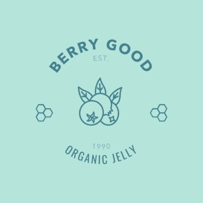 Logo Maker for Organic Jam 1287d