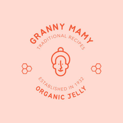 Logo Maker for Organic Jelly 1287f