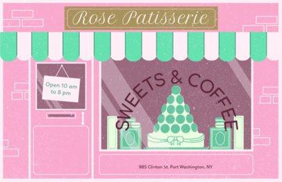 Online Flyer Maker for Patisseries #310b
