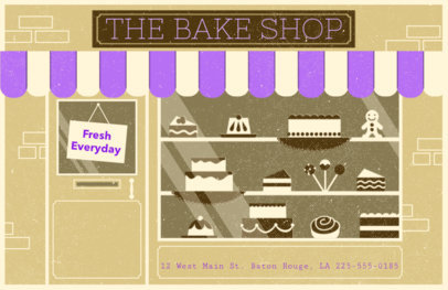 Online Flyer Maker for Bake Shops #310c