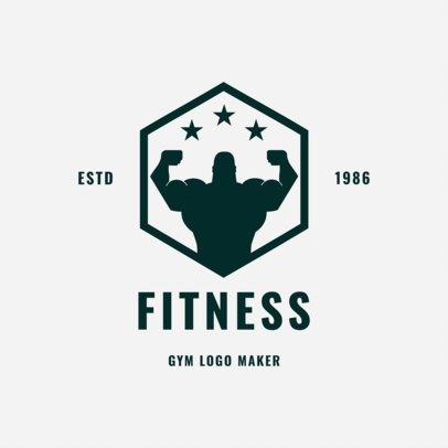 Gym Logo Maker for Fitness Centers 1272