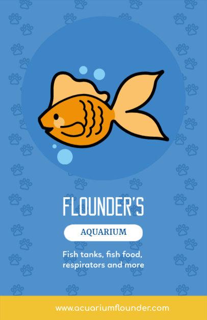 Online Flyer Maker for Aquariums 369e