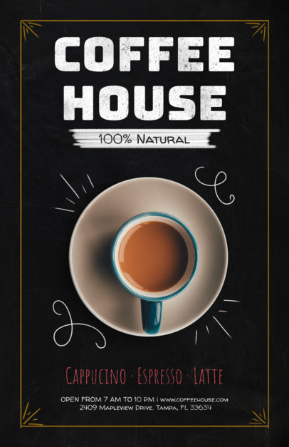 Online Flyer Maker for Coffee Shop Flyers 404