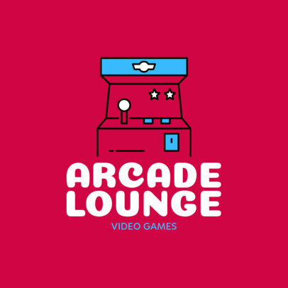 Video Game Logo Maker for Arcades 1289e
