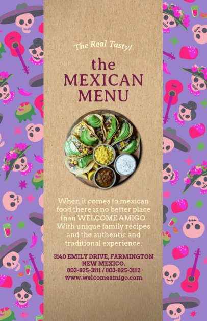 Mexican Food Flyer Maker 377a