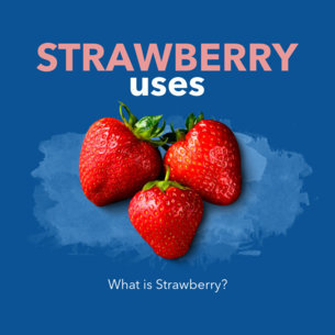 Online Banner Maker for Grocery Stores with Strawberries Picture 360c