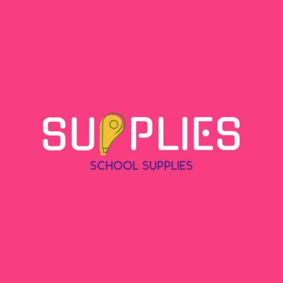 Online Logo Maker for Stationery Store with Creative Fonts 1275c