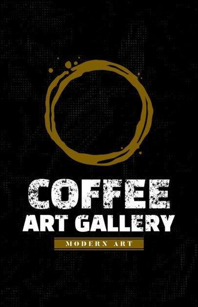 Coffee Gallery Online Flyer Maker 390b