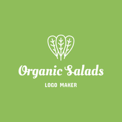 Online Logo Maker for Salad Bars 1267a