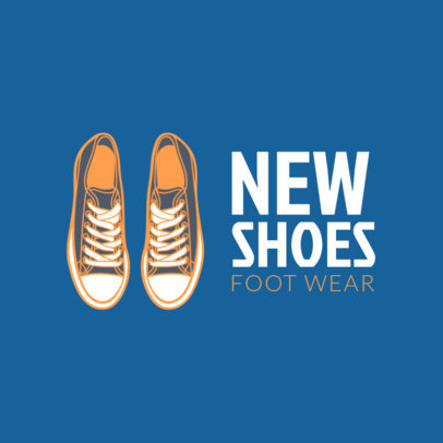 Logo Template for Running Shoes Stores 1261d