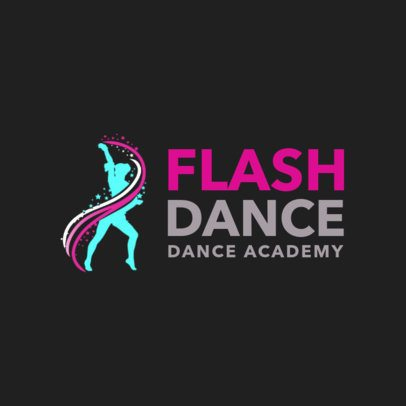 Dance Academy Logo Maker 1257