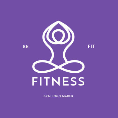 Logo Maker for Yoga Studios 1272e