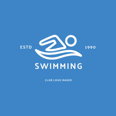Online Logo Maker for Aquatics Centers 1272f