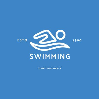 Online Logo Maker for Aquatics Centers 1272f