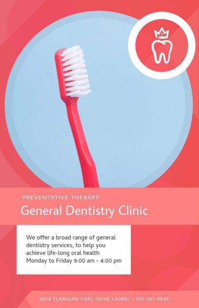 Dentist Online Flyer Maker 412b