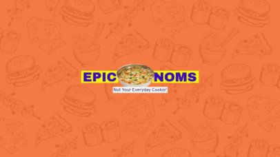 Online Banner Maker for Food Lovers Youtube Channels 399b