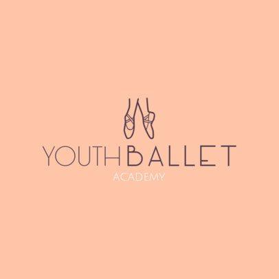 Logo Maker for Ballet Studios 1300