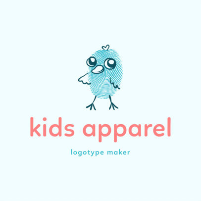 Apparel Logo Maker for Kids Clothing Brands 1276