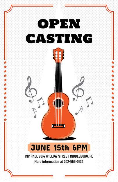 Casting Flyer Maker 422