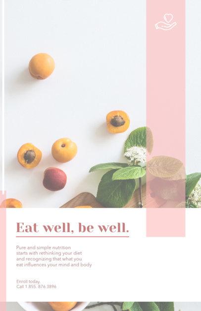Minimalist Nutrition Flyer Template 446