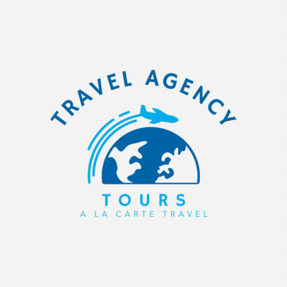 Travel Agency Logo Maker 1281