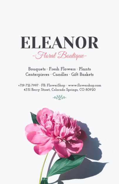 Online Flyer Maker for Flower Shops 431