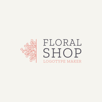 Online Logo Template for Flower Shops 1271e