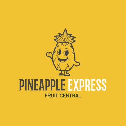 Farm Logo Maker for Pineapple Producers 1303c