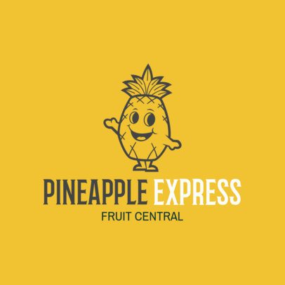 Farm Logo Maker for Pineapple Producers 1303c
