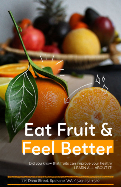 Online Flyer Maker for Dietitians 420a