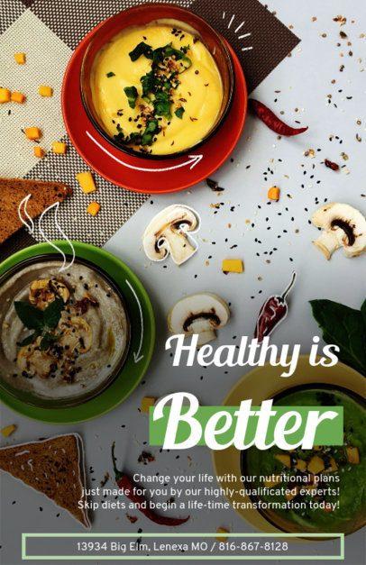 Online Flyer Maker for Nutrition Services 420d