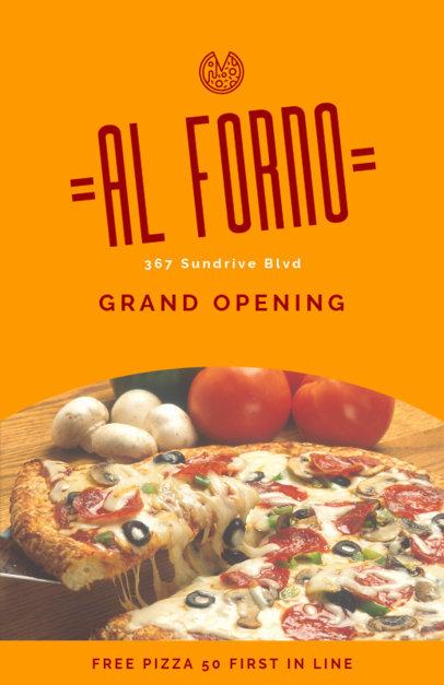 Online Flyer Maker for Pizzerias 414a