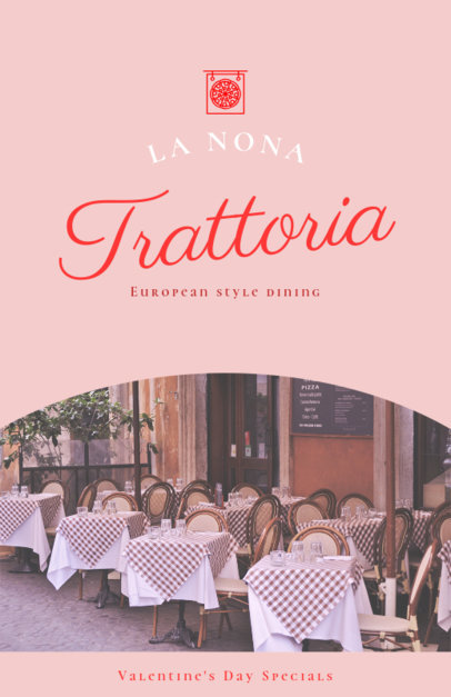 Online Flyer Maker for Italian Restaurants 414b
