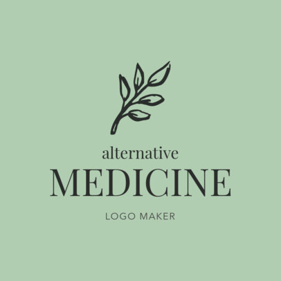 Logo Maker for Alternative Medicine Centers 1294