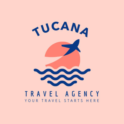 Logo Maker for Luxury Travel Agencies 1281c