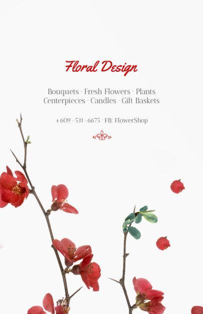 Flyer Maker for Floral Designers 431b