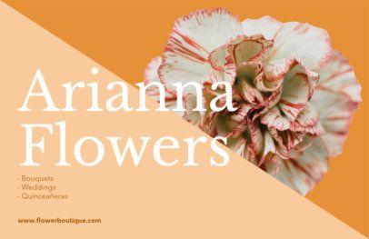 Online Flyer Maker for Flower Markets 425e