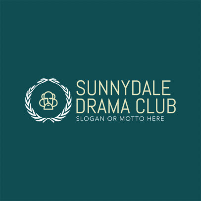 Drama Club Logo Maker 1307