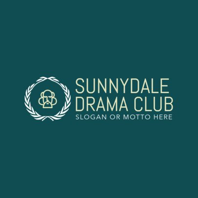 Drama Club Logo Maker 1307