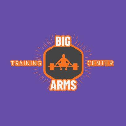 Gym Logo Maker for a Fitness Center 1266b